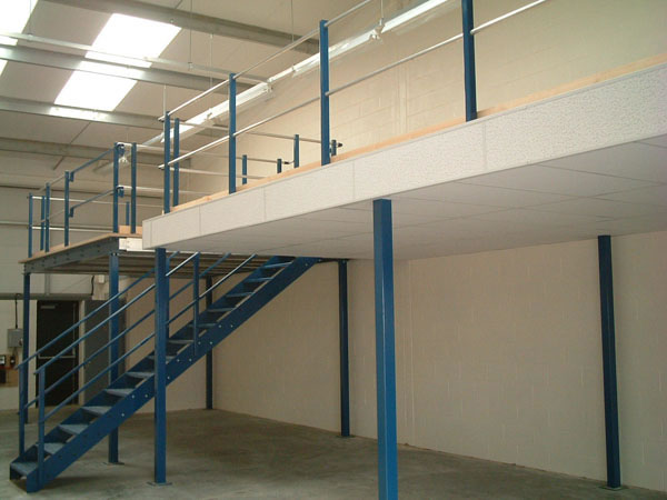 Mezzanine floors and pallet racking suppliers and for How to build a mezzanine floor in a garage